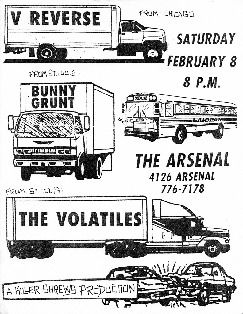 st louis punk flyer
