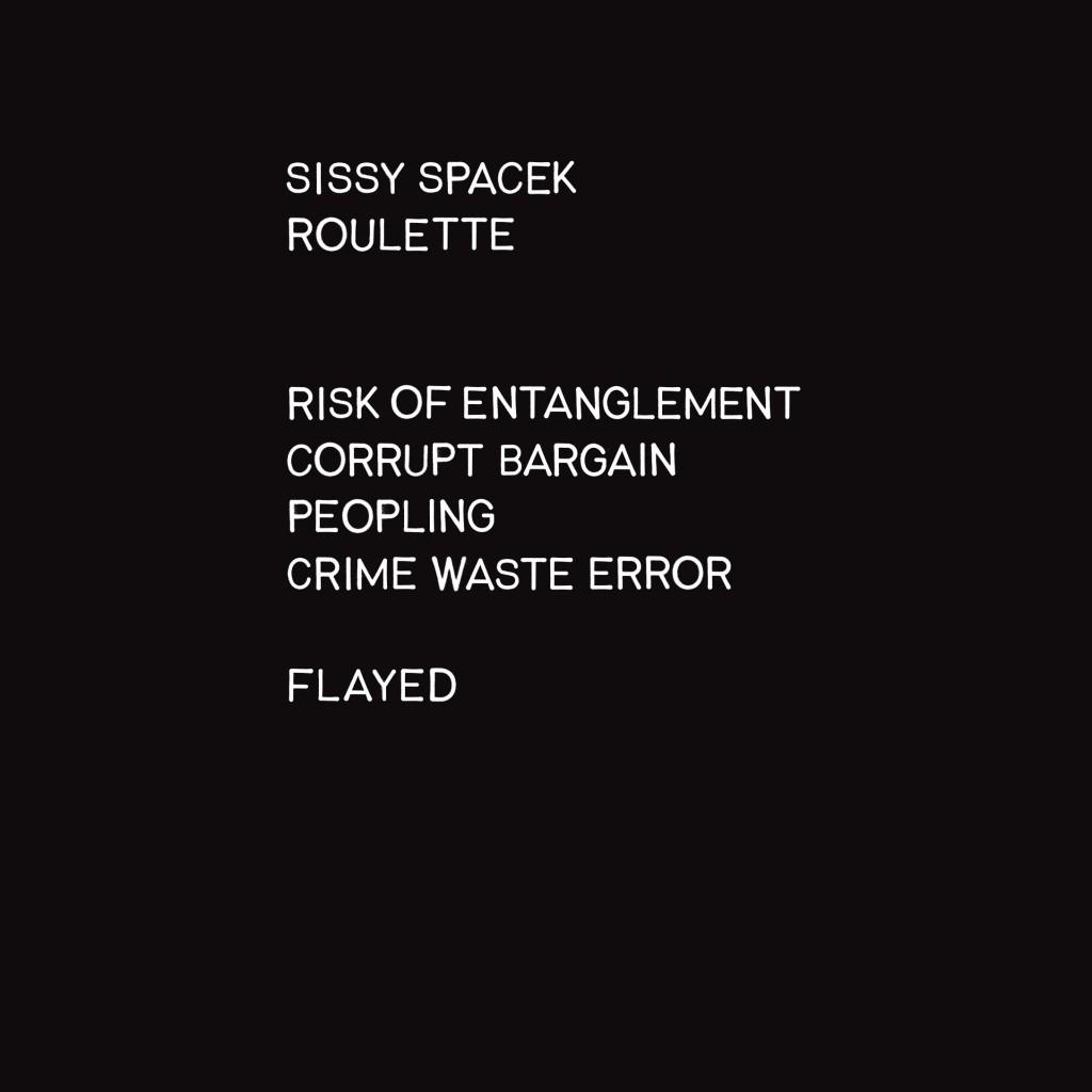 sissy-spacek-roulette-cover