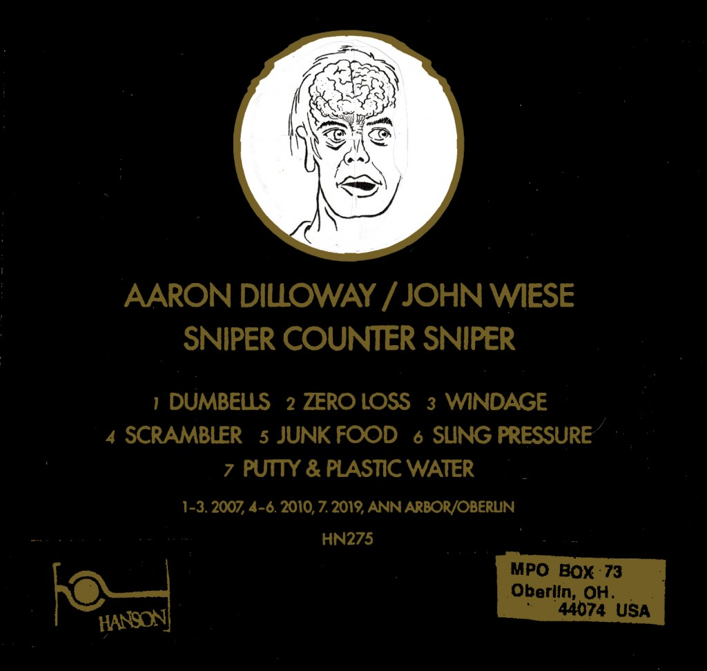 Aaron Dilloway-John Wiese - Sniper Counter Sniper - Cover - B